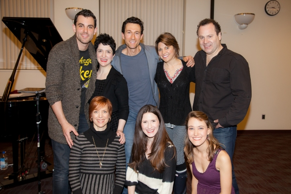 Photo Flash: Cast of Broadway's MAMMA MIA! Teams Up with Sing For Your Seniors