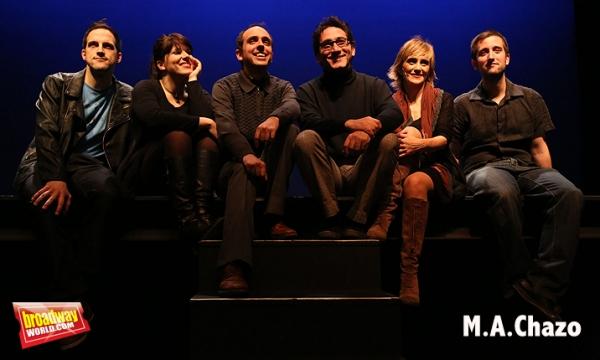 Andreu Gallen, Merce Martinez, Jordi Vidal, Frank Capdet, Muntsa Rius y Victor Perez