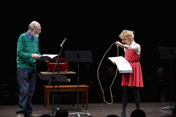 Robert Cushman and Sheila McCarthy Photo