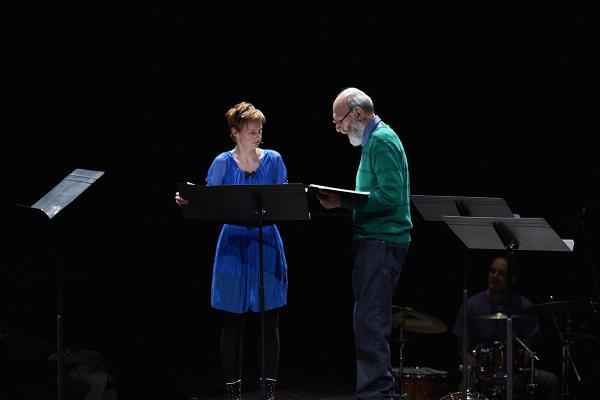 Melody Johnson and Robert Cushman