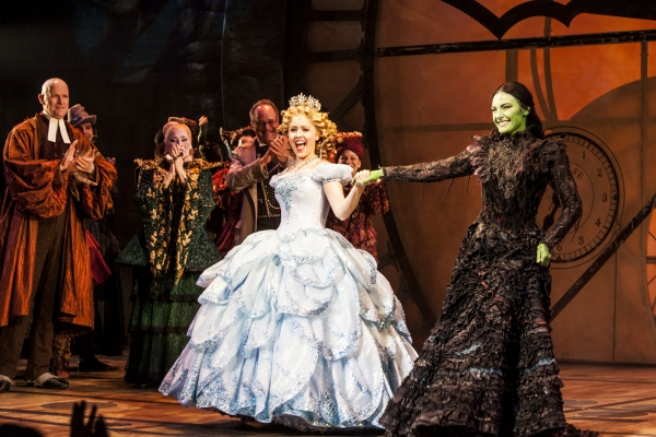 Photo Coverage: Willemijn Verkaik Takes First Bow as WICKED's 'Elphaba'