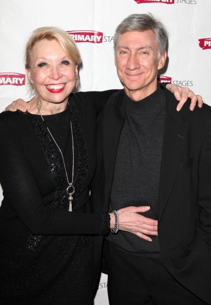 David Garrison & Julie Halston at Inside ALL IN THE TIMING's Opening Night!