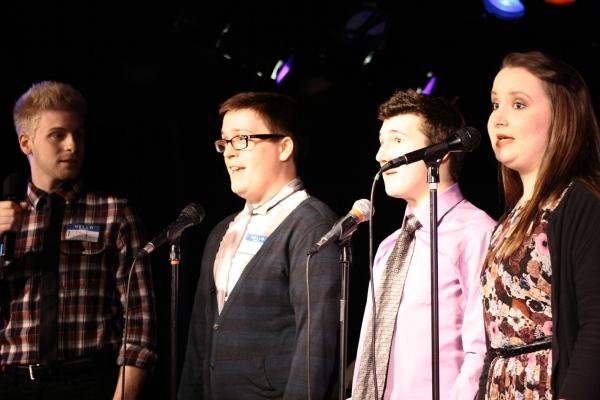 Matt Fogleman, Justin Newkirk, Matt Weinstein and Sarah Kleist Photo