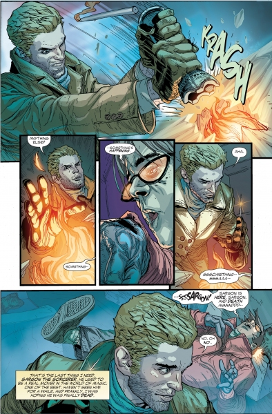 Photo Flash: First Look at DC Comics' CONSTANTINE #1