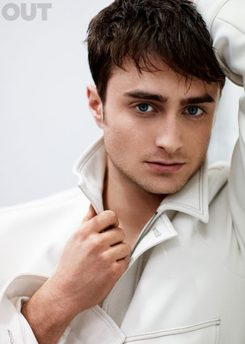 Photo Flash: Daniel Radcliffe Featured in OUT Magazine