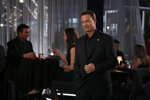 Gary Sinise at First Look at Josh Groban on CSI: NY