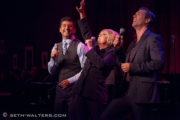 Photo Flash: Liza Minnelli and Barry Manilow Cheer Lorna Luft at Birdland