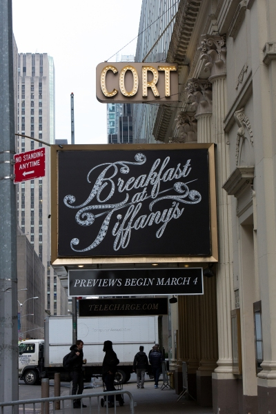 Up on the Marquee: BREAKFAST AT TIFFANY'S