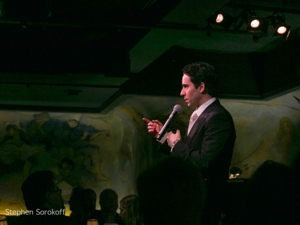Photo Coverage: John Lloyd Young Plays  Cafe Carlyle!