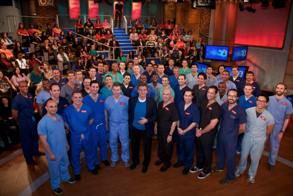Photo Flash: DR. OZ Celebrates Valentine's Day w/ 'Most Eligible Doctors'