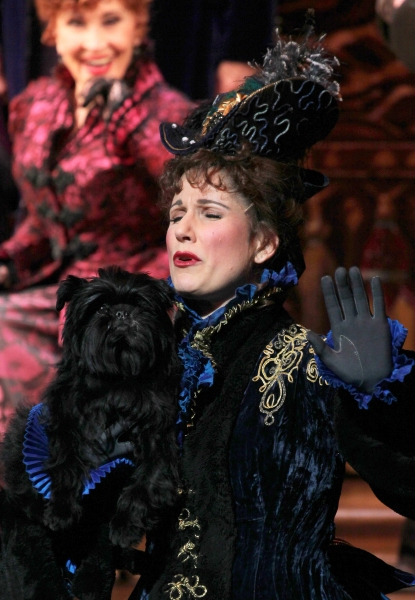 Chita Rivera, Stephanie J. Block & Banana Joe at Westminster Dog Show Winner Banana Joe Makes Broadway Debut in THE MYSTERY OF EDWIN DROOD!