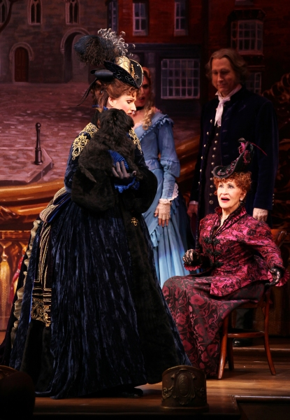 Janine Divita, Gregg Edelman, Chita Rivera, Stephanie J. Block & Banana Joe at Westminster Dog Show Winner Banana Joe Makes Broadway Debut in THE MYSTERY OF EDWIN DROOD!