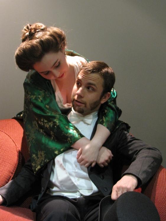 High Res Meredith Davis as Desiree and Jon Skinner as Fredrik