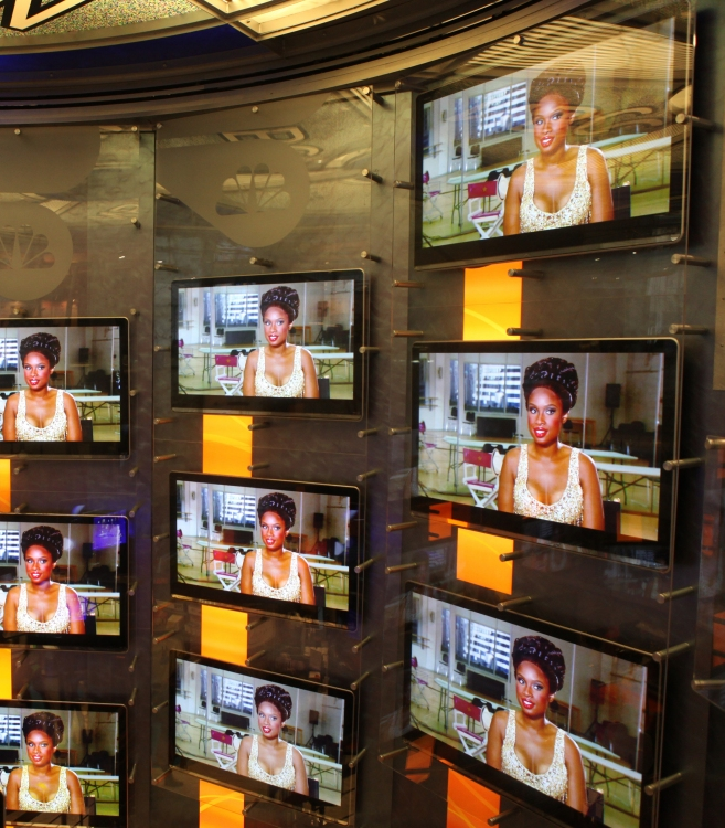 High Res Television Atmosphere featuring Jennifer Hudson
