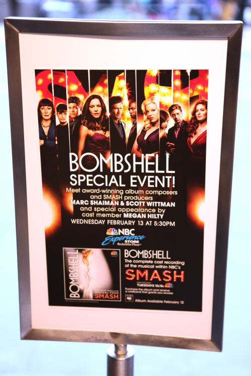 High Res CD signing & Celebration for the release of the SMASH 'Bombshell' Soundtrack