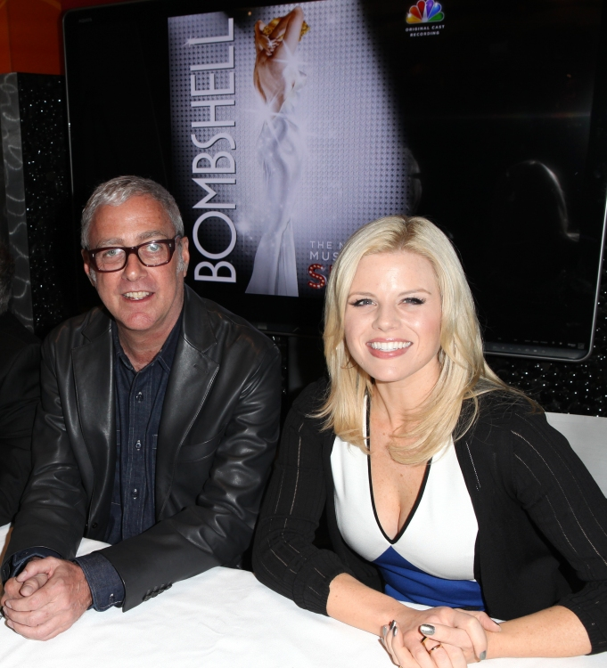High Res Scott Wittman & Megan Hilty