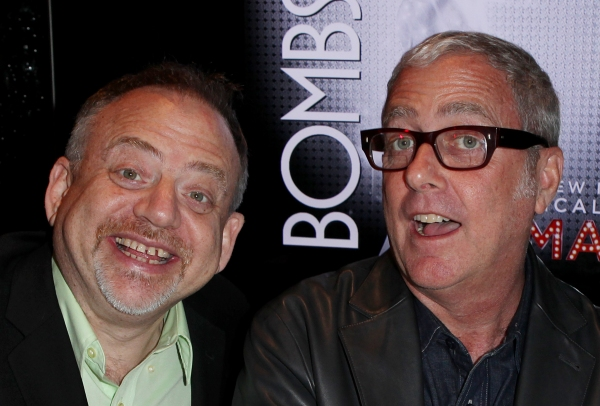 Marc Shaiman & Scott Wittman at Megan Hilty, Marc Shaiman & Scott Wittman Sign 'Bombshell' Albums
