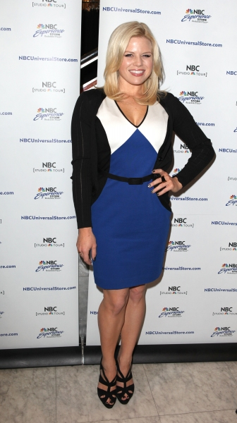 Megan Hilty  at Megan Hilty, Marc Shaiman & Scott Wittman Sign 'Bombshell' Albums