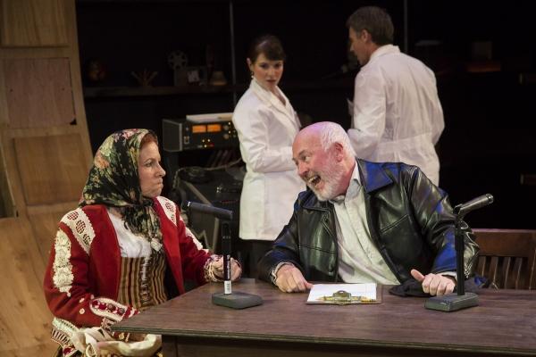 (Foreground) Luisa Amaral-Smith & James Belcher, (Background) Beth Lazarou & Rick Silverman