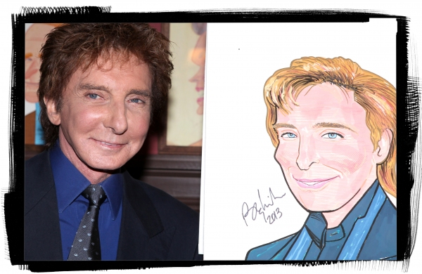 FREEZE FRAME: Barry Manilow Joins Sardi's Wall of Fame!