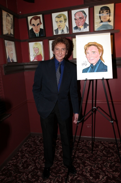 Barry Manilow  at Barry Manilow Gets Sardi's Caricature!