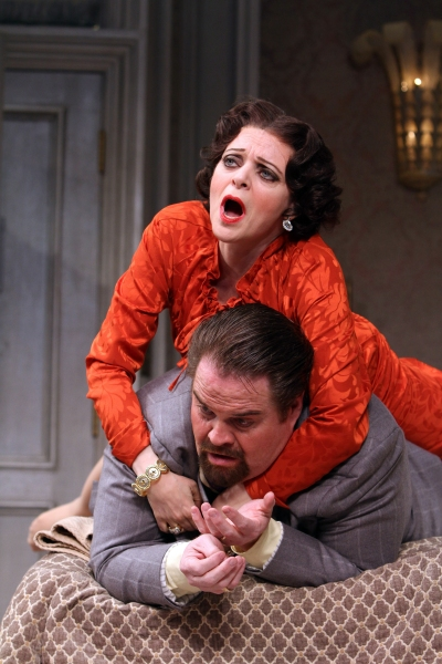 Photo Flash: First Look at Jill Paice, John Treacy Egan and More in Paper Mill's LEND ME A TENOR