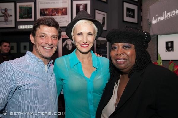 Patrick Rinn, Amra Faye-Wright and Carol Woods