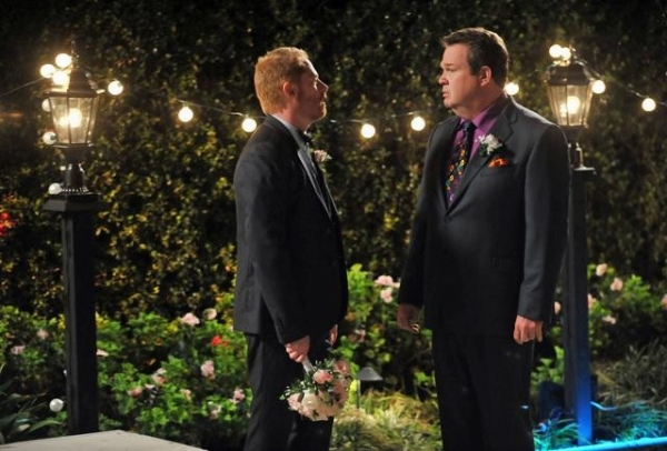 MODERN FAMILY - 'Best Men' - Mitch and Cam's best gal pal, Sal, makes one of her notorious surprise drop-ins, but this time with big news - she's getting married... tomorrow! Cam and Mitch are the best men, but they can't help but question whether this at MODERN FAMILY's 'Best Men'