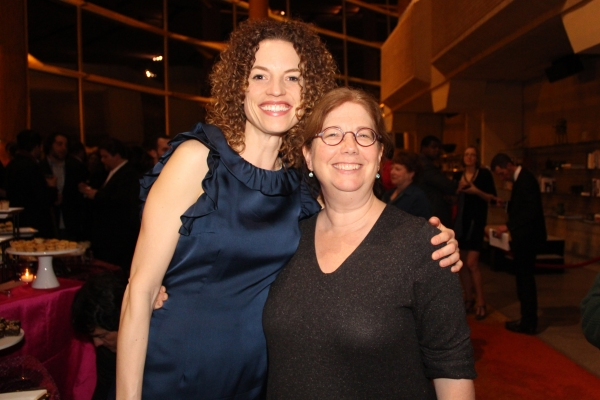 Cast member Louise Lamson with playwright-director Mary Zimmerman