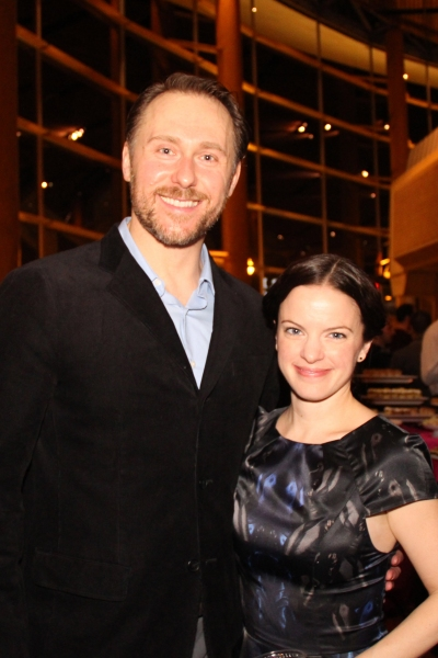 Cast members Chris Kipiniak and Lauren Orkus