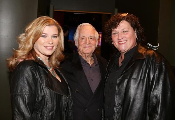 From left, Bridgett Casteen, Dot Marie Jones and Producer Matty Simmons pose during t Photo