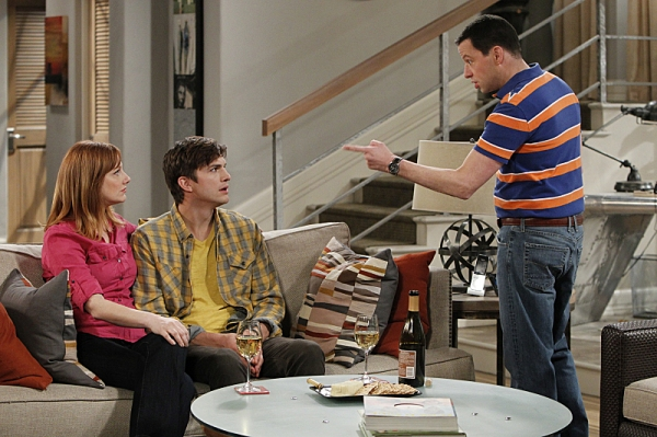 Judy Greer, Ashton Kutcher, Jon Cryer