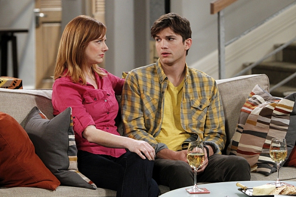 Judy Greer, Ashton Kutcher