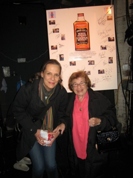 Amy Morton and Dr. Ruth