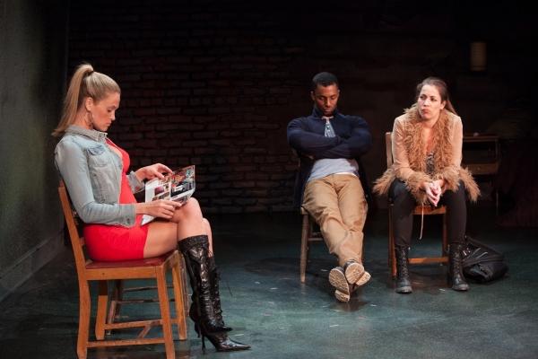 Elizabeth Regen, Darryl Stephens and Andrea Grano Photo