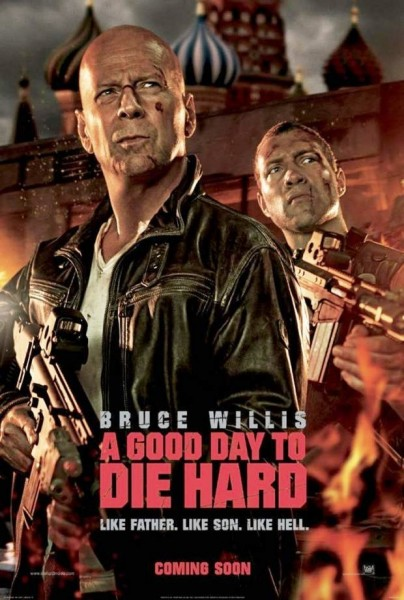 A GOOD DAY TO DIE HARD Takes Weekend Box Office with $25M