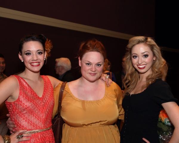 Carly Wielstein, Teya Patt, and Ashley Matthews