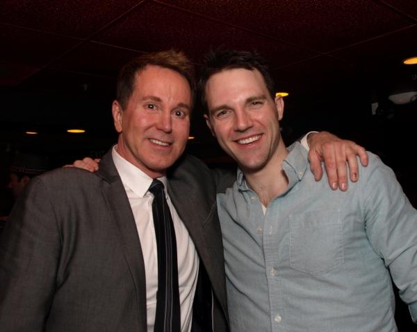 Director Davis Gaines with Bryant Martin