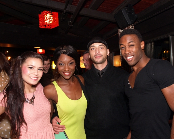 Allison Paraiso, Stacey Renee Parker, and Louis Williams