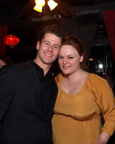 Luke Hawkins and Teya Patt