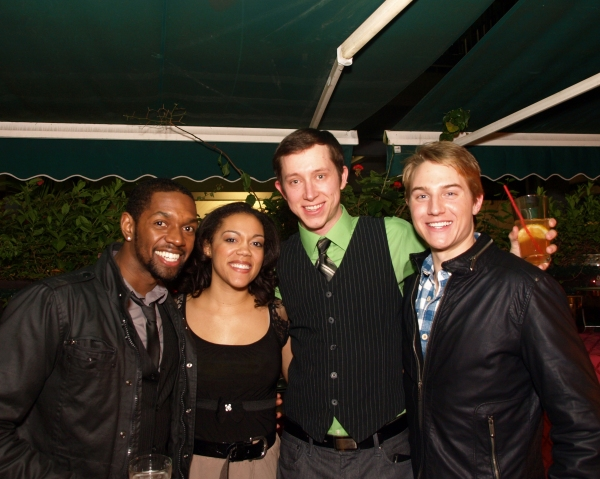 Ramone Owens, Jenna Gillespie, Chris Duir, and Michael Starr