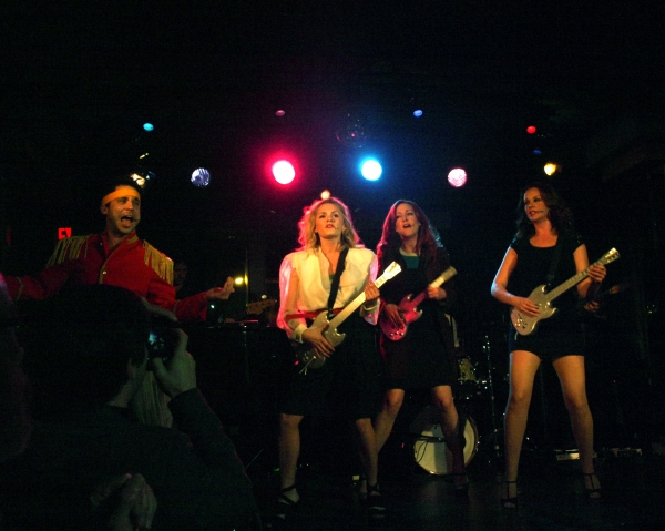 Derek Manson, Lindsey Gort, Laura DIckinson, and Ginifer King