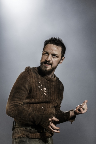 Photo Coverage: McAvoy And Foy In MACBETH