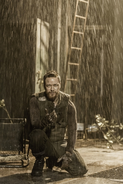 Photo Flash: First Look at MACBETH with James McAvoy and Claire Foy
