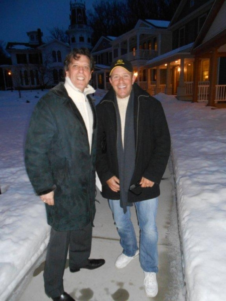 Jonathan Brielle and production supervisor Steve Cohen Photo
