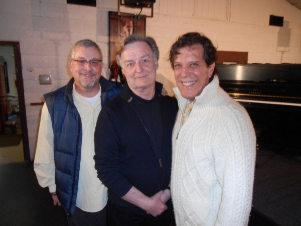 Dramaturge-Mentor Michael Bush, Goodspeed Associate Producer Bob Alwine, Writer-Produ Photo