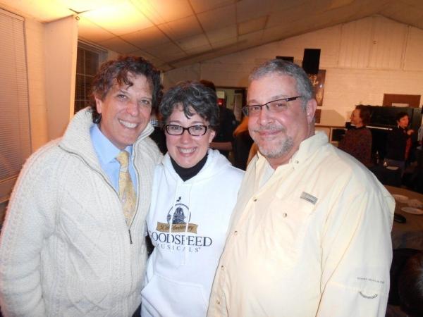 Jonathan Brielle, Donna Lynn Cooper Hilton, Michael Bush Photo