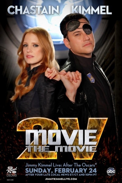 Photo Flash: Jessica Chastain Featured in MOVIE: THE MOVIE, 2V Poster