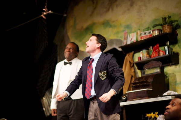 Photo Flash: First Look at Aurora Theatre's MASTER HAROLD...AND THE BOYS