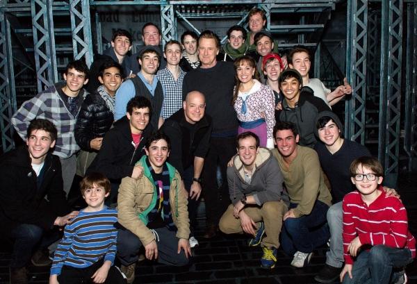 3 at Photo Coverage Exclusive: Original NEWSIES Star Bill Pullman Visits Nederlander Theatre!